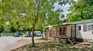 Luxe mobil home Taos 8 persone