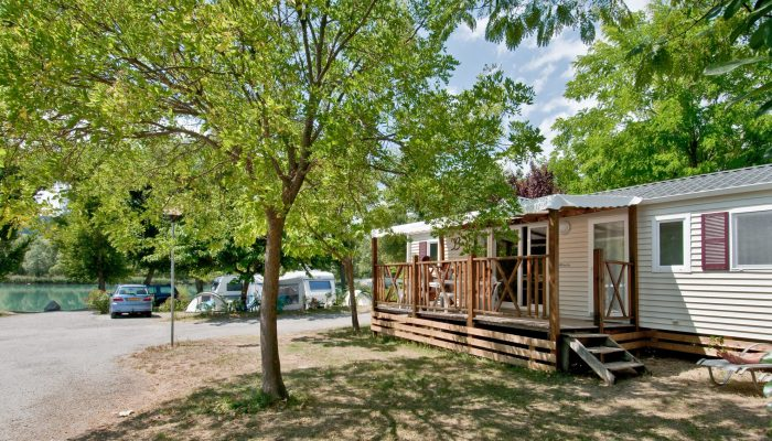Luxe mobile home pour 8 personnes