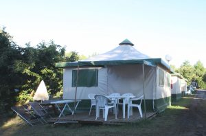 Bungalow tent for 5 persons