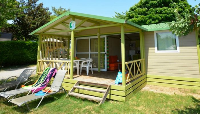 Location chalet camping en Provence