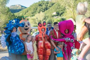 parade mini club camping Hippocampe Volonne