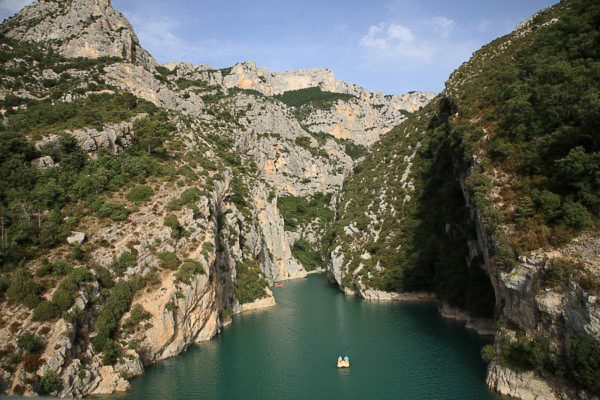 Site naturel: les Gorges du Verdon