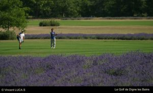 golf in digne les bains provence