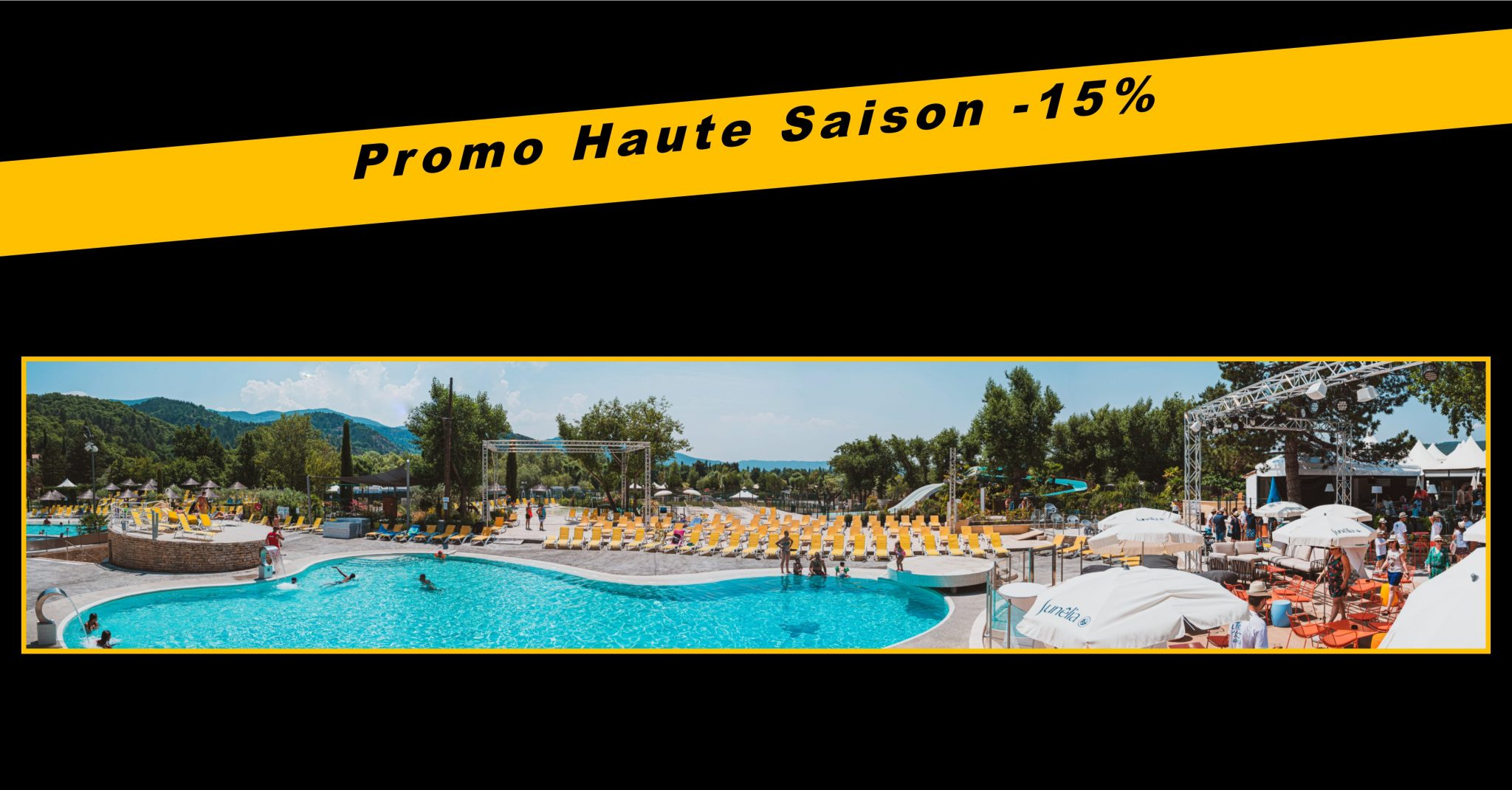 Special offer for the high season in August
